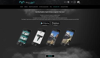 Armoury app